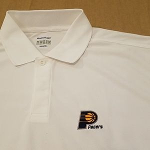 NWOT Pacers Reebok Play Dry polo mens sz XL